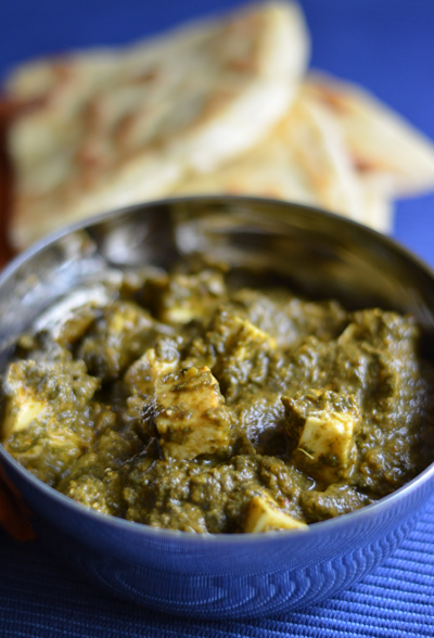 Anticipation, devastation, and fulfillment (Palak Paneer)