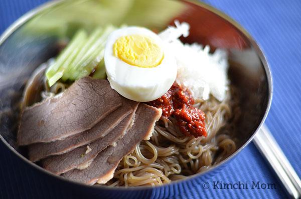 Bibim Naeng Myun | www.kimchimom.com