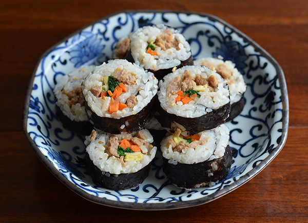 Rolling with Kimbap #SundaySupper