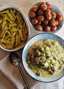 Blanquette de veau | www.kimchimom.com #CookforJulia #SundaySupper