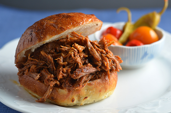 Spicy Seoulful Pulled Pork Sandwiches #SundaySupper