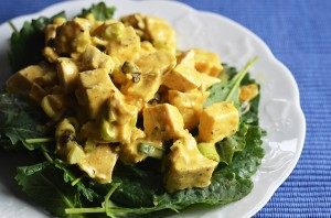 Curried Leftover Turkey Salad | www.kimchimom.com