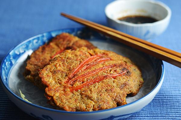 Bindaetteok (mung bean pancakes) #SundaySupper
