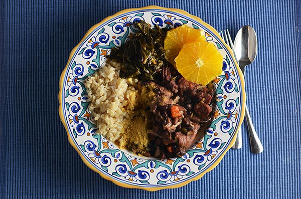 Feijoada Portuguese Bean Stew #SundaySupper