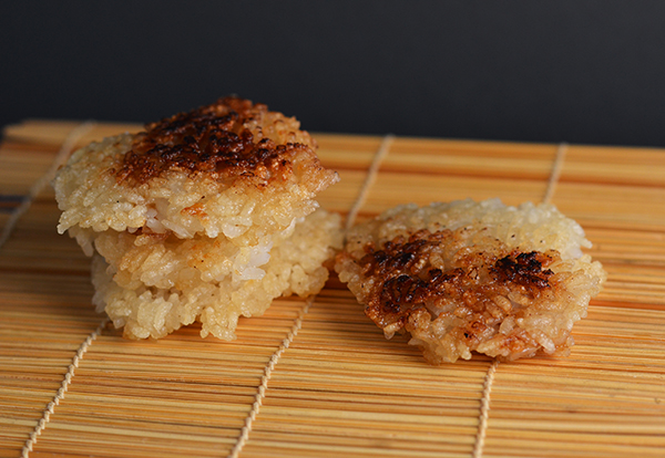 Crispy Rice Patties
