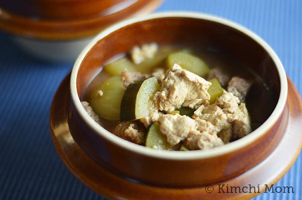 Chadol Dwaenjang Jigae (Beef Brisket Soybean Stew)