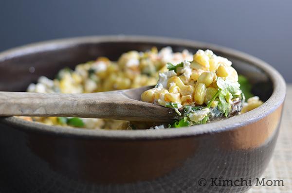 Esquites (Mexican Corn Salad) #SundaySupper #CincodeMayo - kimchi MOM ...