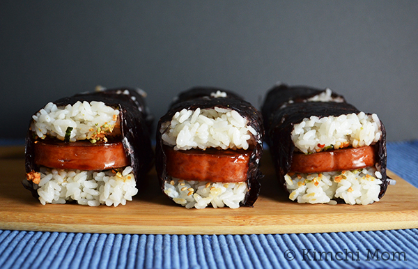 Two Words: Spam Musubi #SundaySupper #Picnic