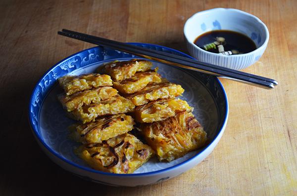 Chuseok (butternut squash pancakes) | kimchimom.com