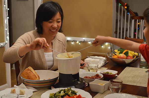 Family Fondue | www.kimchimom.com