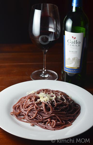 Spaghetti All'ubriaco | www.kimchimom.com