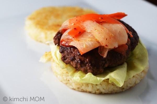 Bibimbap Burger | www.kimchimom.com