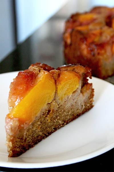 Peach Plum Cake by gotta get baked | www.kimchimom.com