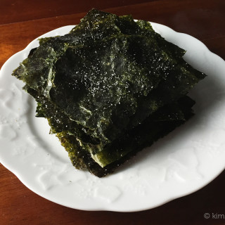 Roasted Seasoned Dried Seaweed (Gheem Gui / 김구이)