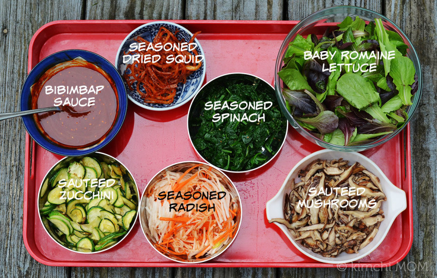Bibim Bap Bar #SundaySupper | www.kimchimom.com