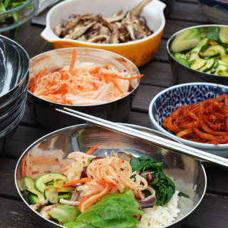 Bibimbap Bar #SundaySupper
