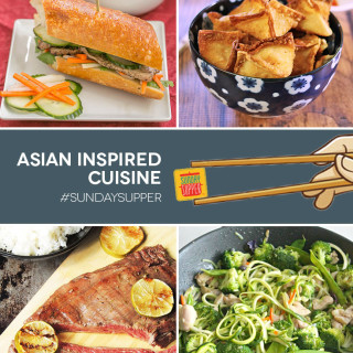 Going Global with Asian inspired Cuisine #SundaySupper