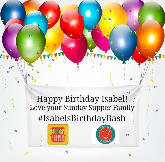 #IsabelsBirthdayBash