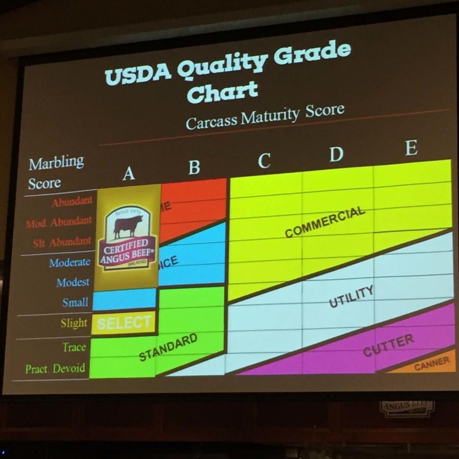 USDA Quality Grade Chart