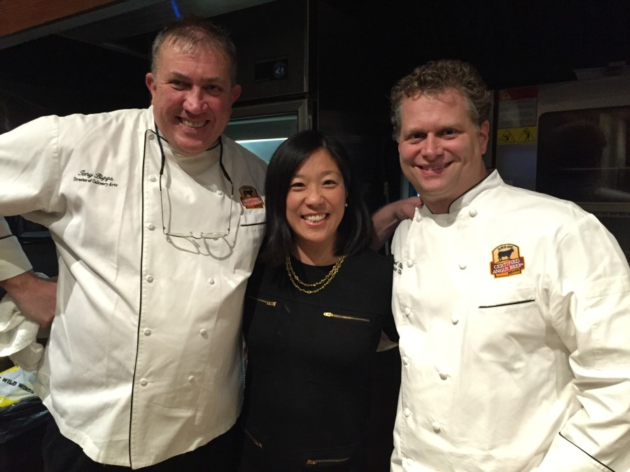 With Chef Tony Biggs and Chef Michael Ollier