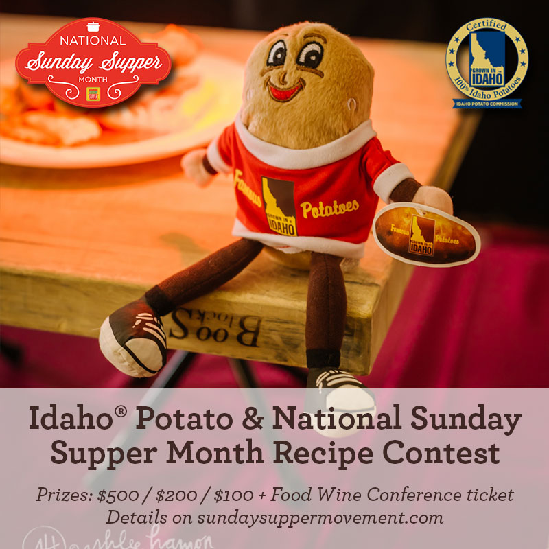 Let's Poutine Idaho Potato Contest #FWCon #SundaySupper