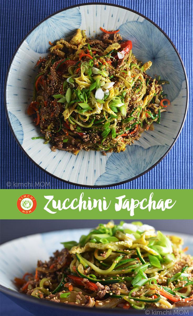 Zucchini Japchae #kimchimom