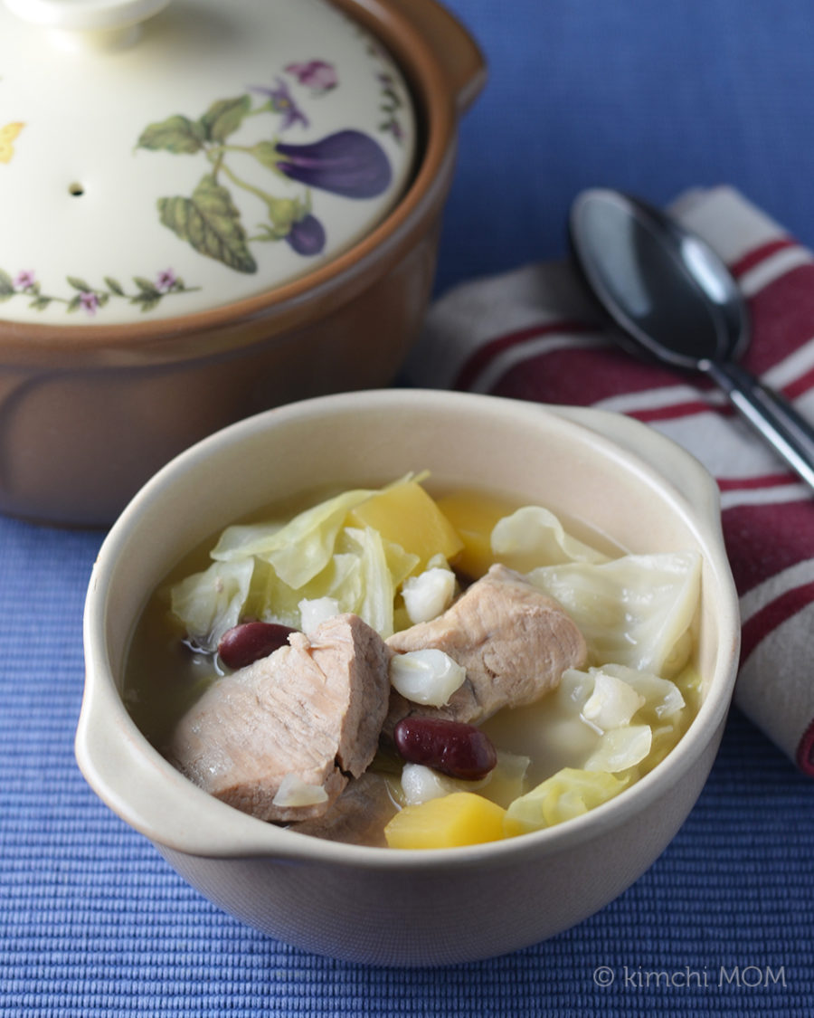 Mohawk Corn Soup #SundaySupper
