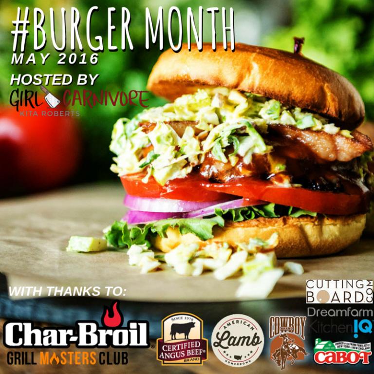 #BurgerMonth