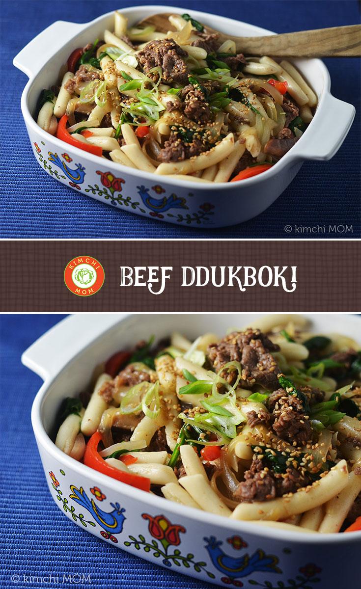 Beef Ddukboki
