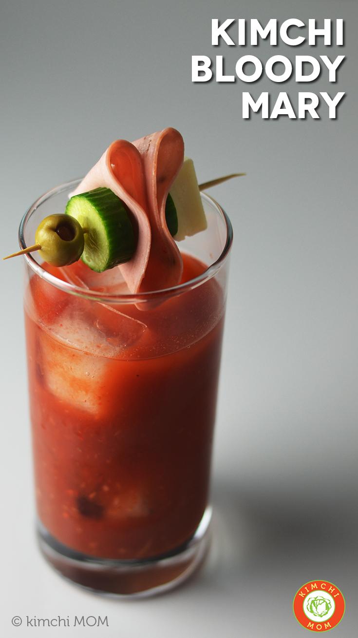 Kimchi Bloody Mary #BrunchWeek