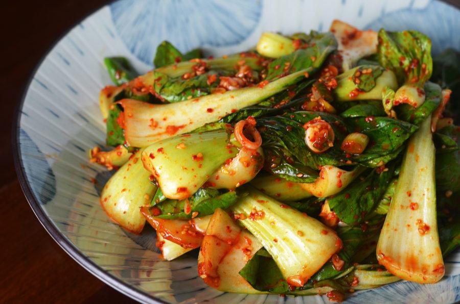 Quick Kimchi (Geotjori) Recipe