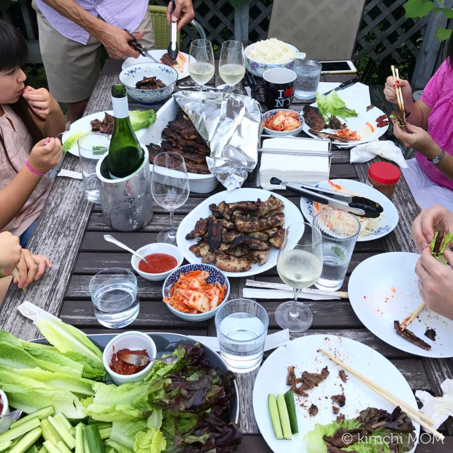 Korean BBQ at home #kimchimom