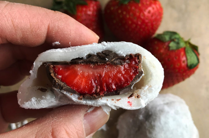 Strawberry Mochi # FLStrawberry #SundaySupper